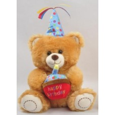"10"" Birthday Teddy Bear ""Blue"""