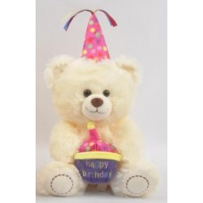 "10"" Birthday Teddy Bear ""Pink"""