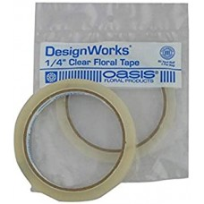 """1/4"""" Clear Oasis Tape/ Floral Tape"""