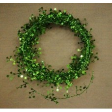 "25"" Mini Star Foil Garland ""Emerald Green"""