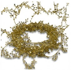 "25"" Mini Star Foil Garland ""Gold"""