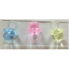 """0.875"""" Baby Pacifier """"Pink"""""""