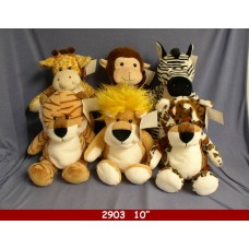 "10"" Safari Animal Assortment"