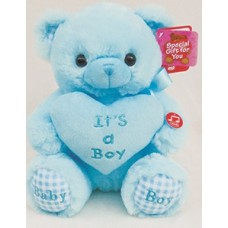 "12"" Blue Bear w/ Music"