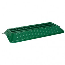 "23"" Double Casket Saddle Green"
