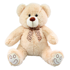 "42"" EVERYDAY CREAM BEAR W/ DOTTED RIBBON"