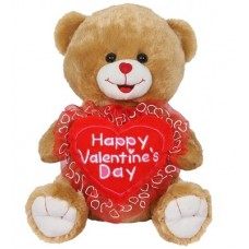 "14"" Happy Valentines Plush"