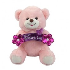 "12"" HAPPY MOTHERS DAY PINK PLUSH"