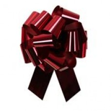 "1 1/4"" Glitter ""BURGUNDY"" Ribbon"