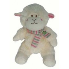 "11"" Lamb with Scarf - Pink"