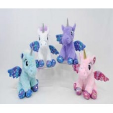 "11"" Soft Plush Baby Unicorns ""Mix"""