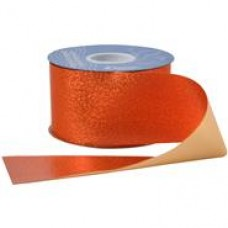 "1 1/2"" Sparkalene Ribbon ""ORANGE"""