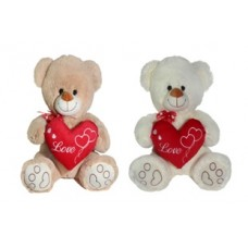 """11"""" Bear with Heart (Mix)"""