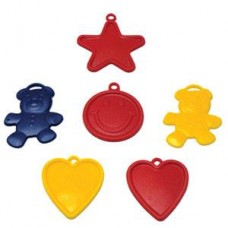 Assorted Shapes Balloon Weights