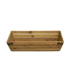 """13"""" Wood Crate"""