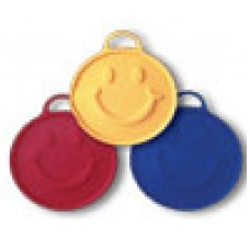 """Smiley Ribbon Weights """"RED"""""""