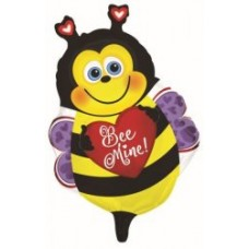 "22"" Happy Bee Mine Mylar Balloon"
