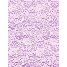 "20"" Color Cello-Lace Roll ""Lavendar"""