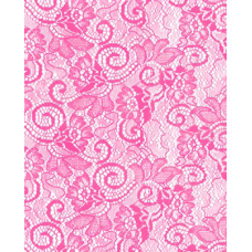 "20"" x 100' Victorian Lace Printed Roll ""Pink"""
