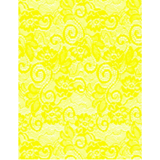"20"" Color Cello-Lace Roll ""Yellow"""