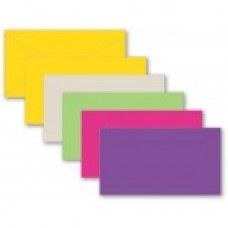 Assorted Colors envelopes