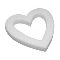 "18"" Styrofoam Open Heart"