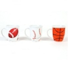 "14 oz. Sports Mug ""Drum Shape"""