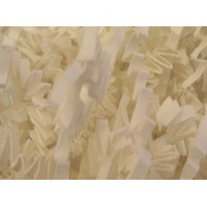 "Crinkle Cut Crimped Paper Shred ""WHITE"""