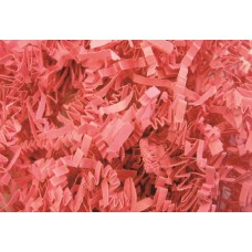 "Crinkle Cut Crimped Paper Shred ""PINK"""