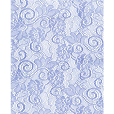 "20""x 100' Victorian Lace Printed Roll ""Light Blue"""