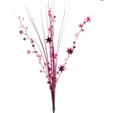 "20"" Onion Grass w/Stars ""Burgundy"""