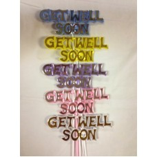 """Get Well Soon Pick """"Get Well Soon"""""""