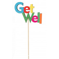 """21"""" Get Well Pick"""