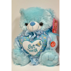 "10"" Get Well Blue Bear"