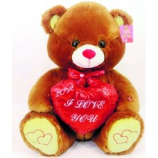 "22"" Brown Bear ""I Love You"""